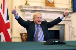 12/29 英國歐盟正式簽訂新的貿易協定啦!