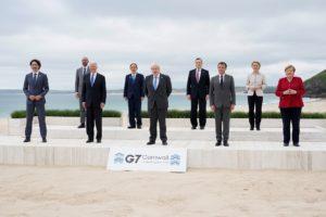 6/15 G7峰會兩大重點:美版一帶一路、抗中體系成形